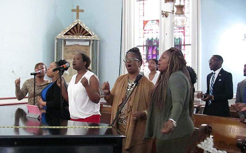 Worship Services:First African BC, Savannah GA